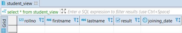 PostgreSQL Views - 1