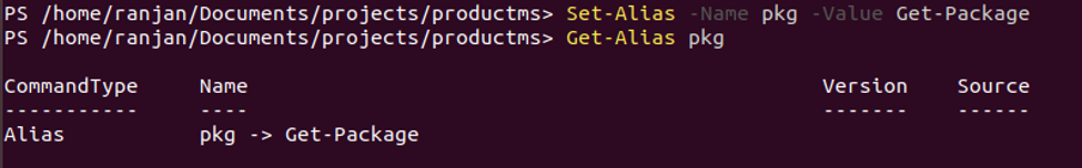 PowerShell Alias-1.1