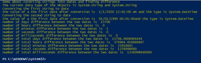PowerShell Convert Srring example 3