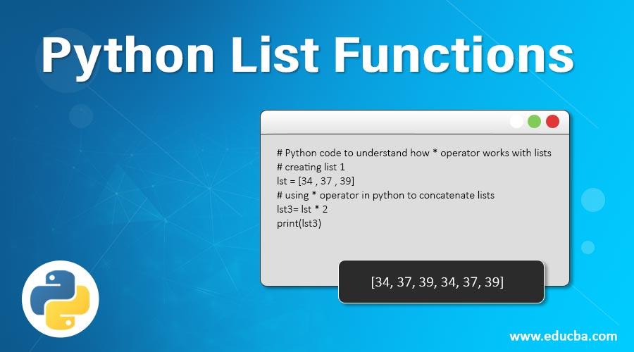Python-List-Functions