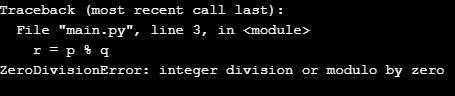 Python Remainder Operator 1-7