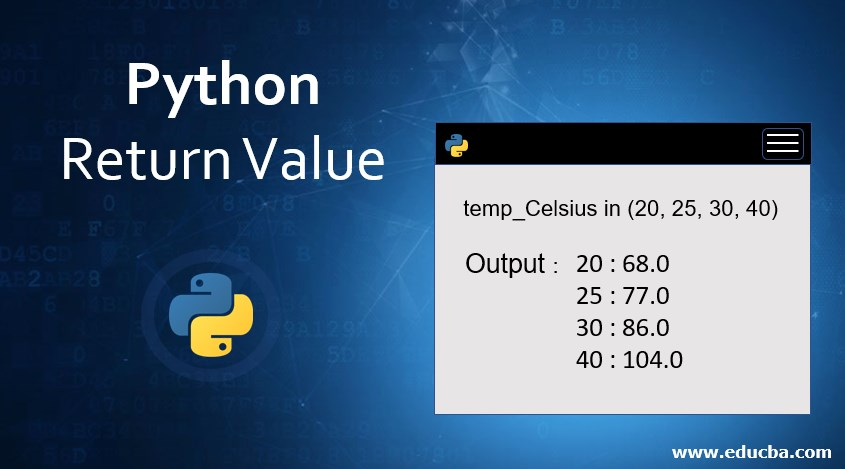 Python Return Value