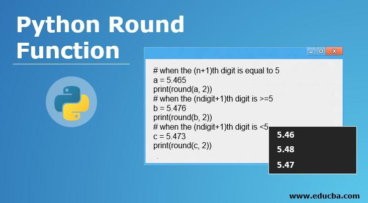 Python Round Function