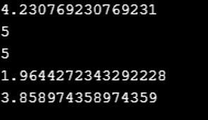 Python Statistics Module-1.1