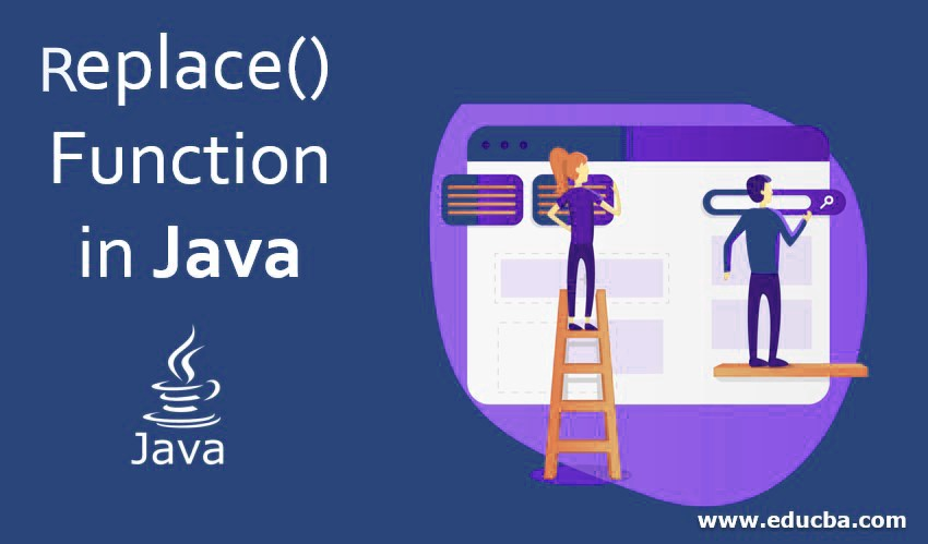 Replace() Function in Java