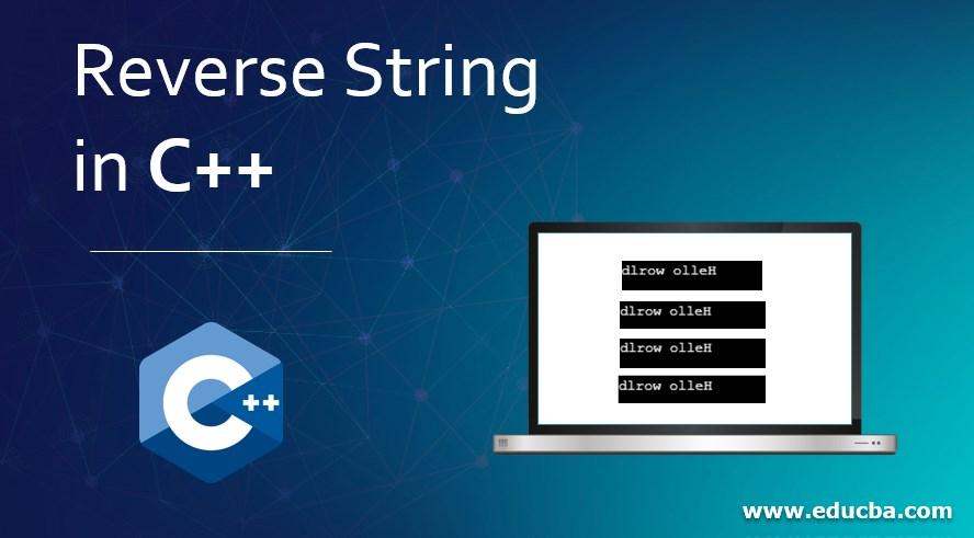Reverse String in C++