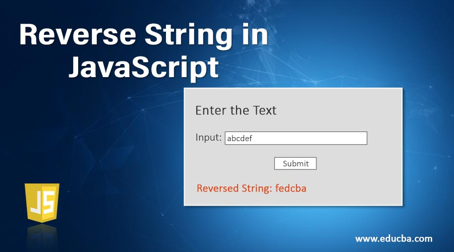 Reverse-String-in-JavaScript