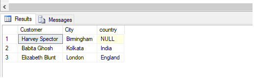 SQL Left Join output 2