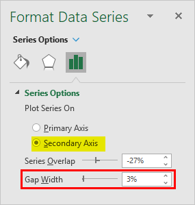 Secondary Axis-Format Data