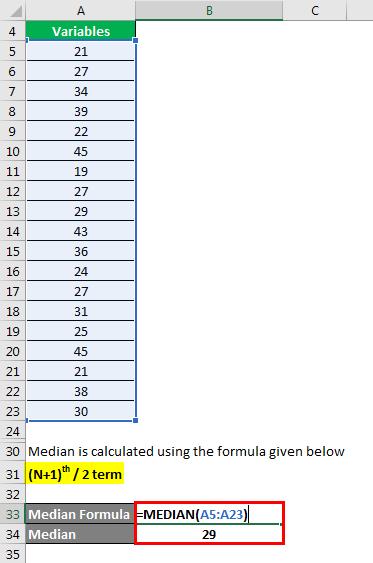 Statistics Formula - 1.3