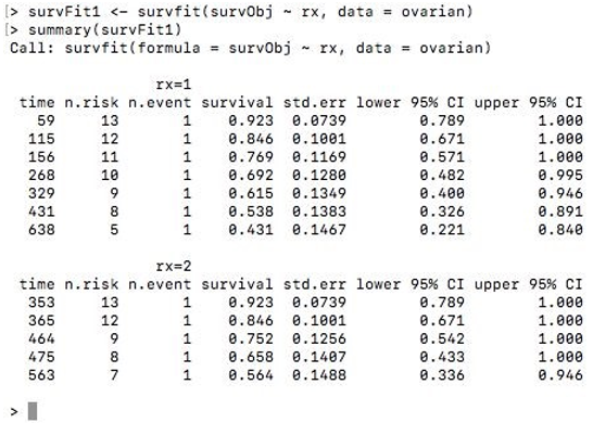 Survival Analysis in R-1.3