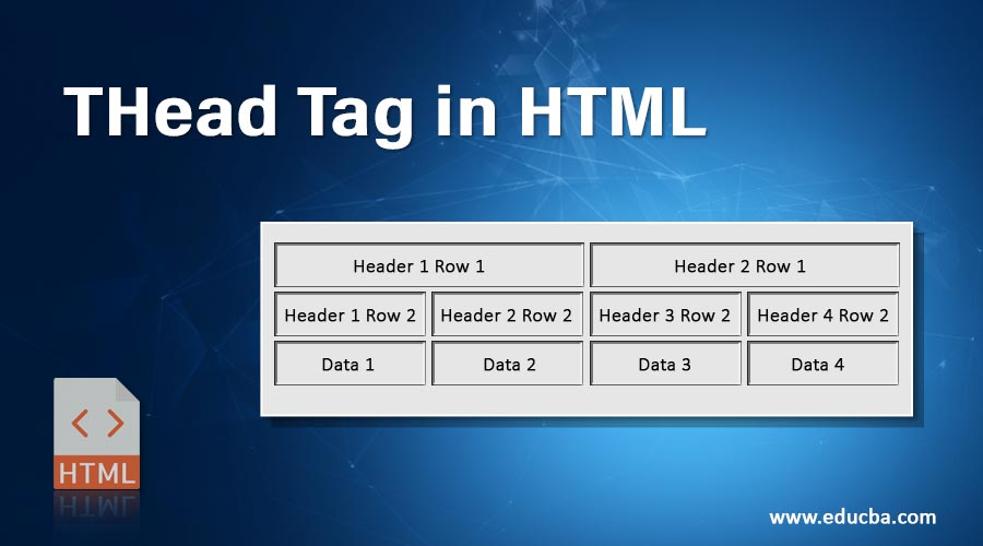 THead-Tag-in-HTML