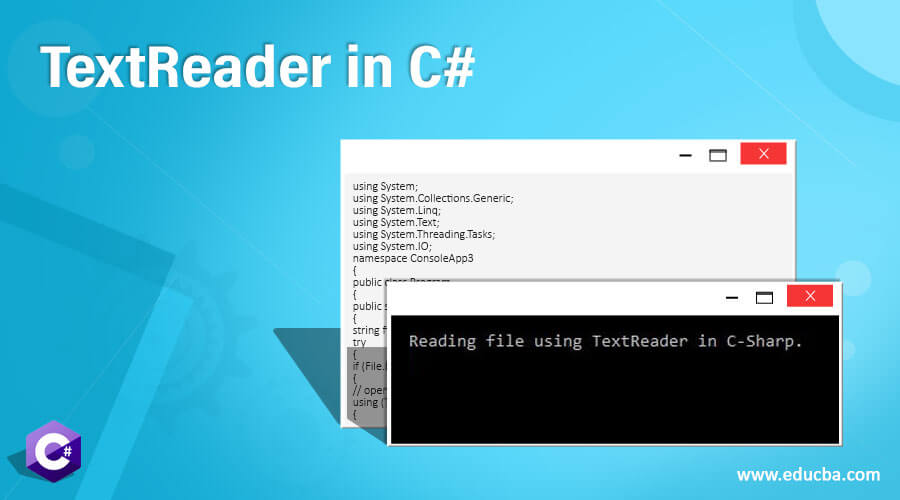 TextReader in C#