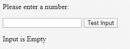 Without entering any number