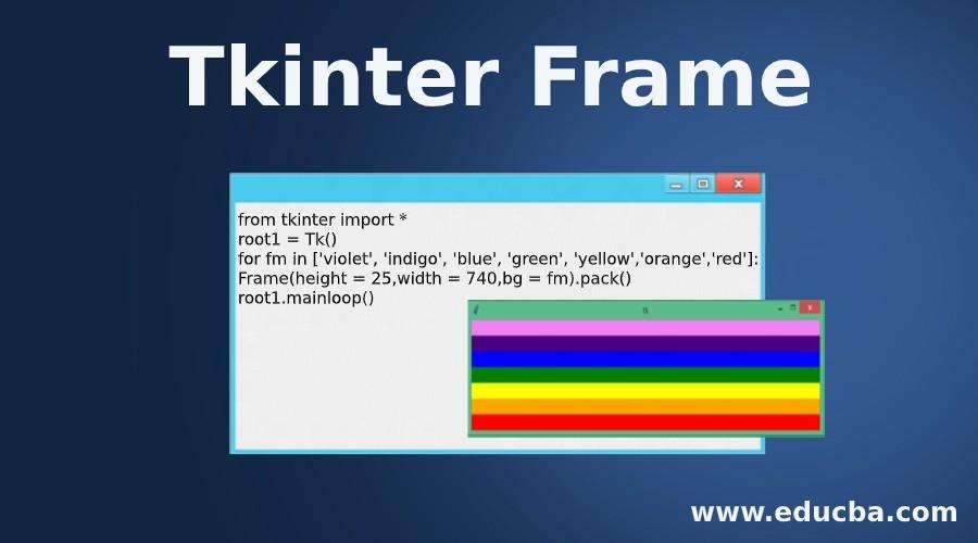 Tkinter Frame