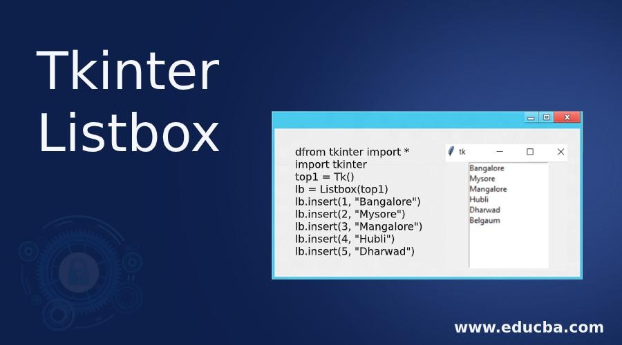 Tkinter Listbox