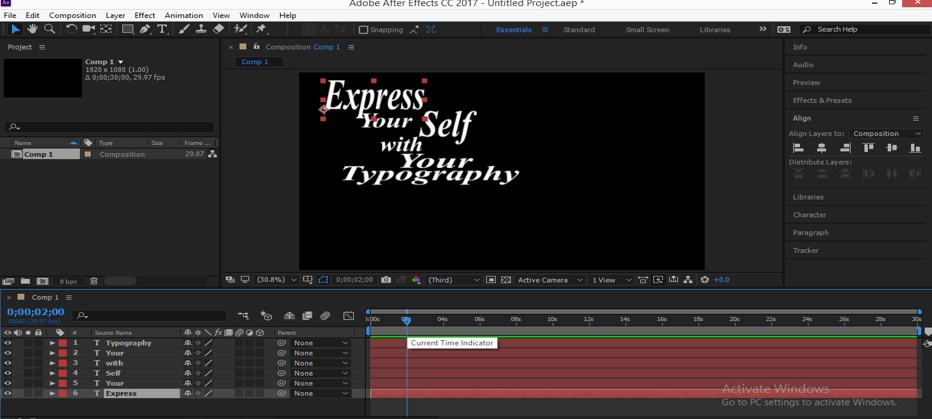 Typography in After Effects - 12