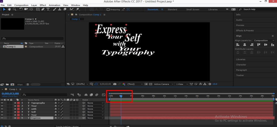 Typography in After Effects - 13