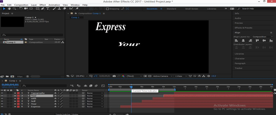 Typography in After Effects - 15