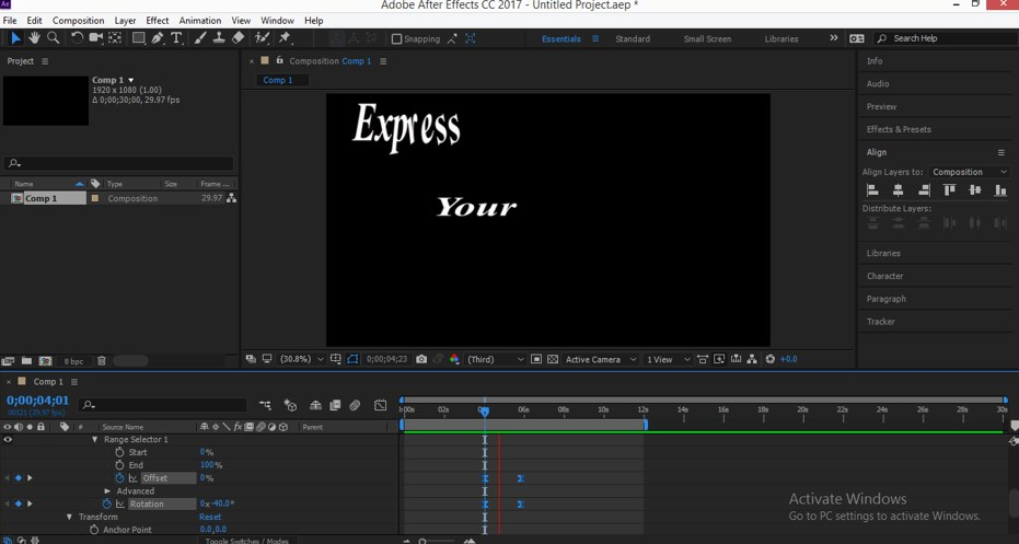 Typography in After Effects - 20