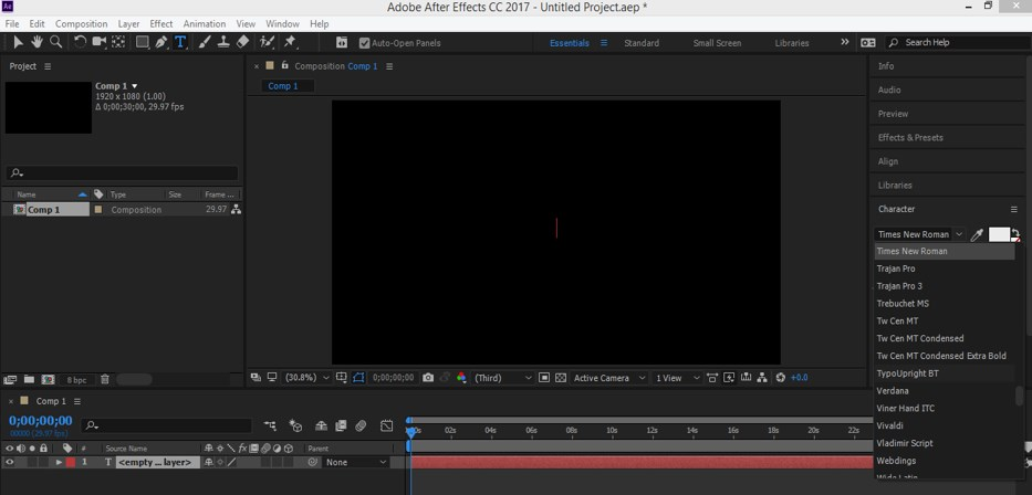 Typography in After Effects - 5