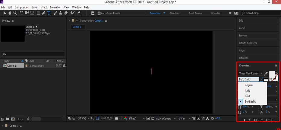Typography in After Effects - 6