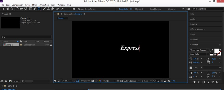 Typography in After Effects - 8