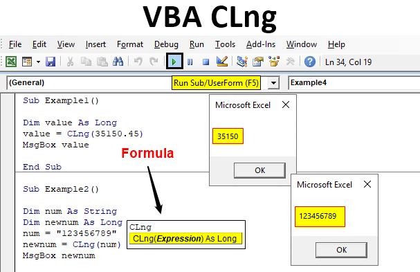 VBA CLng