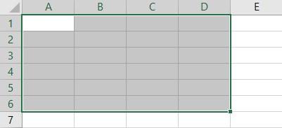 VBA Resize Example 4-6