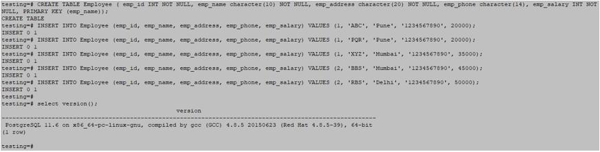 Wildcards in PostgreSQL output 1