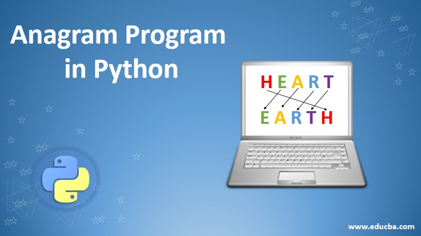 anagram programs in python