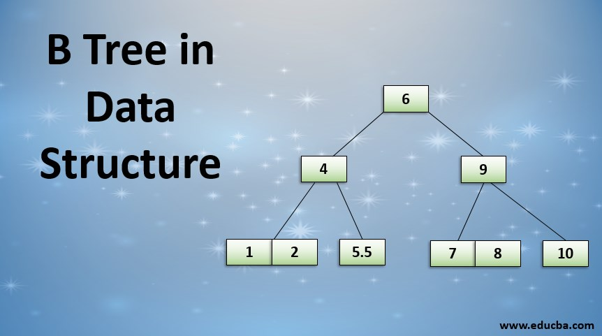 b tree in data structure
