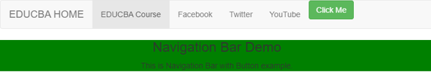 bar with button