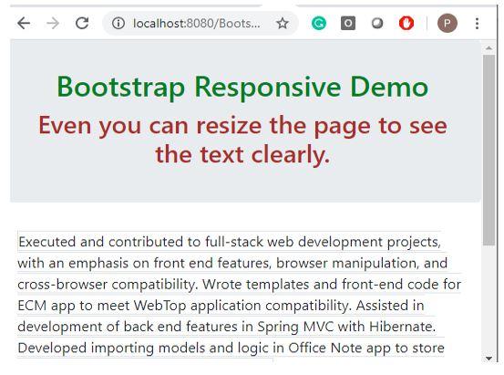 bootstrap responsive 3
