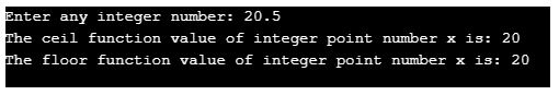 datatype as integar instead of float