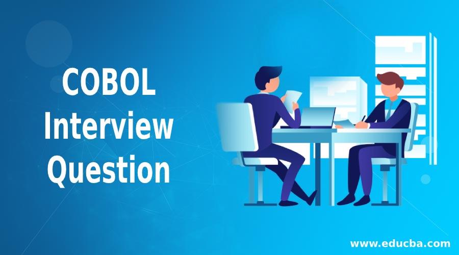 COBOL Interview Questions