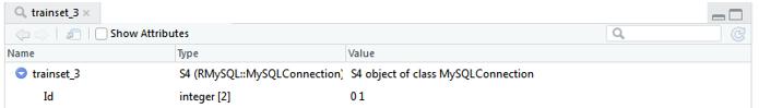 database in r - 5