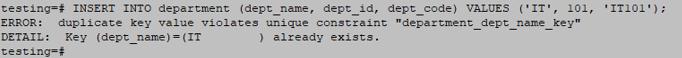 Unique Constraints-2.3