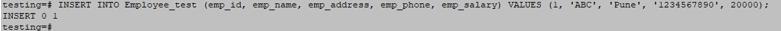 PostgreSQL Constraints - 3.2