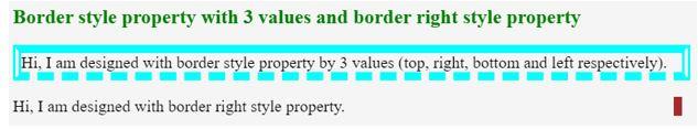 3 values