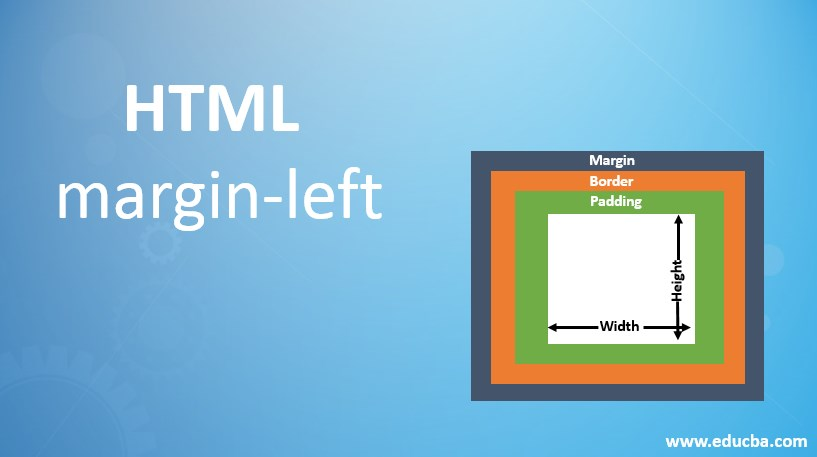html margin left