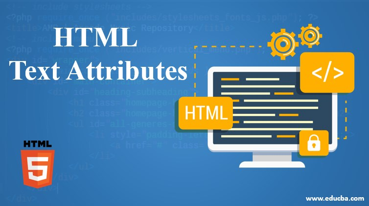 html text attributes