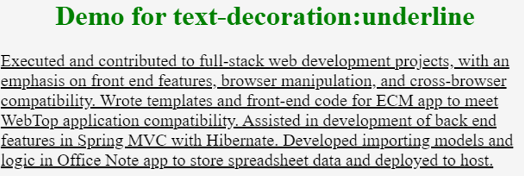 html text decoration -example 2