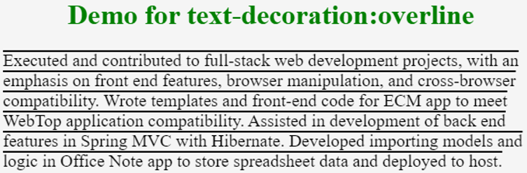 HTML Text Decoration | How does text-decoration work in HTML?