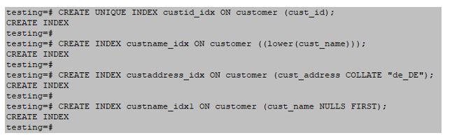 indexes in PostgreSQL 11JPG