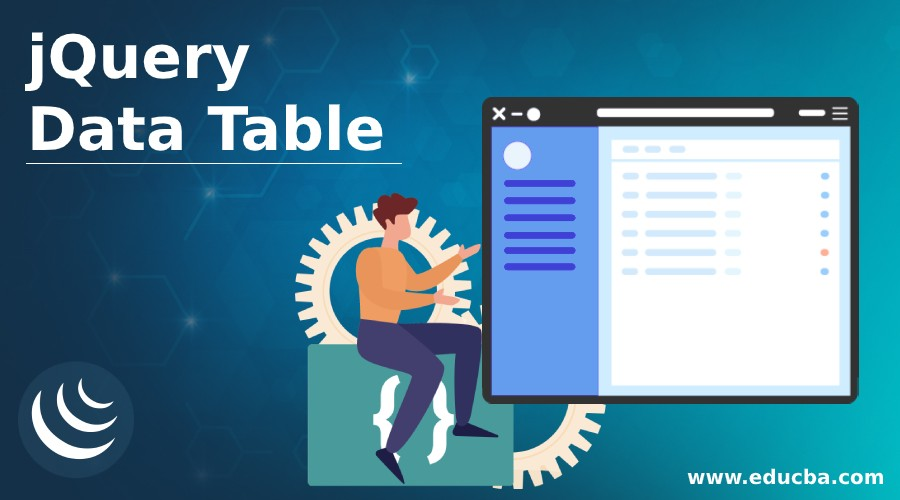 jQuery Data Table