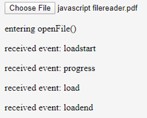 javascript filereader output 2