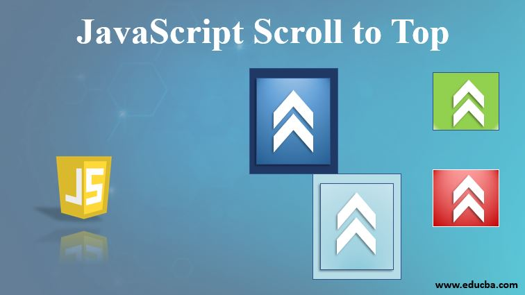 javascript scroll to top