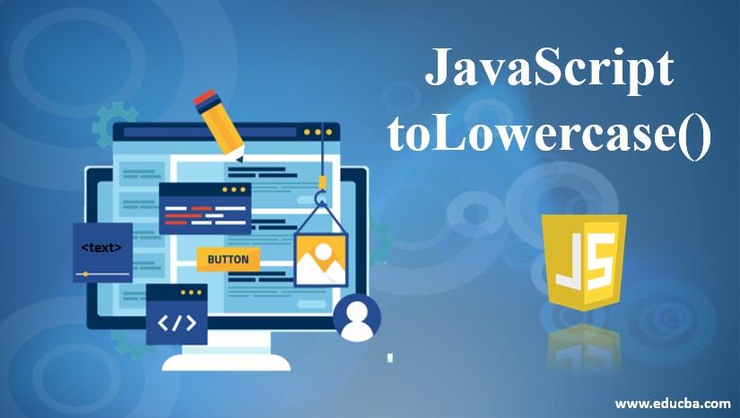 javascript tolowercase
