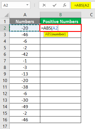 Negative numbers into Positive 4-3